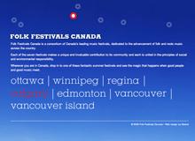 Folk Festivals Canada